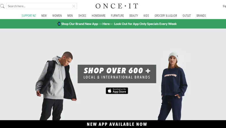 Onceit - homeware stores nz