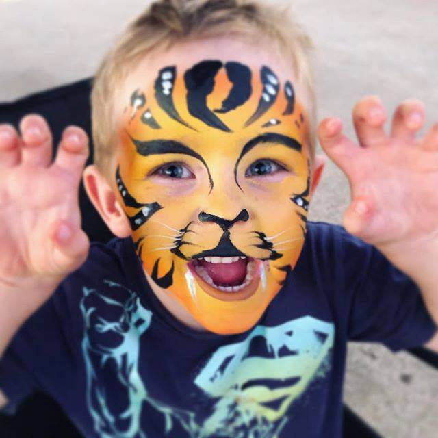 Creative Face Painting with Lillybeth