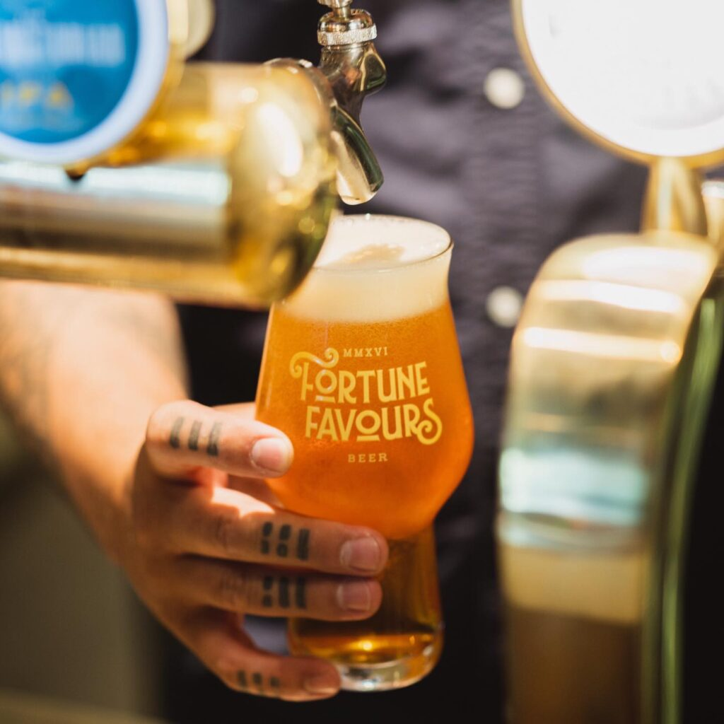 Fortune Favours Beer