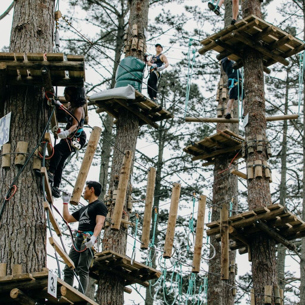 Adrenalin Forest Christchurch
