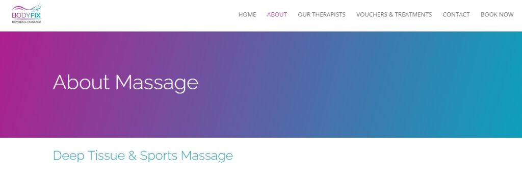 Body-Fix Remedial Massage Therapy Clinic
