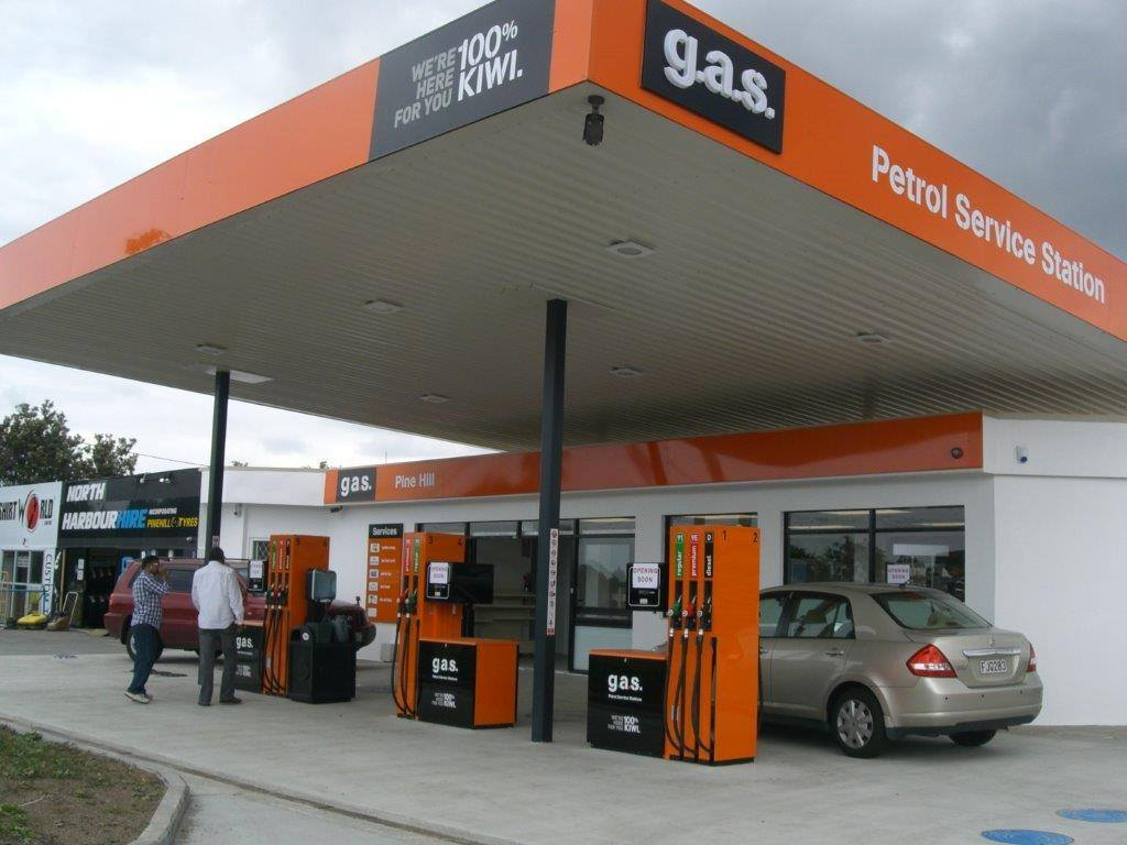 GAS Petrol Service Stations