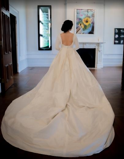 White Silk Bridal Couture