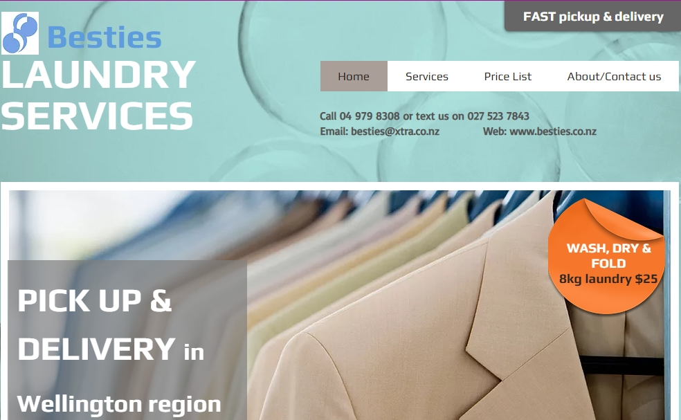 Besties Drycleaning And Laundry Services